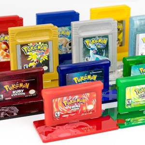 Pokemon Cartridge Display Stands
