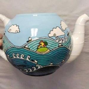 Ponyo Teapot