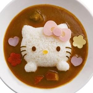 Hello Kitty Rice Mold
