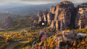 Meteora Greece - Suspended in Air