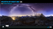 HELVETIA BY NIGHT 360° TIMELAPSE