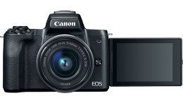 Canon EOS M50 Mirrorless 4K Camera Now Available