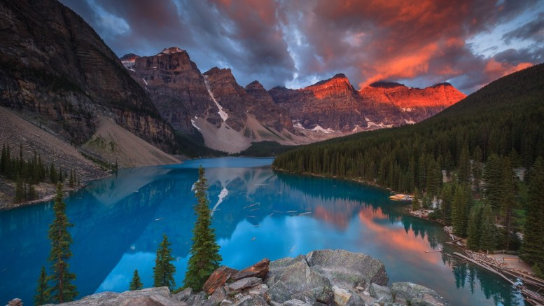 The Canadian Rockies Natures Perfect Masterpiece