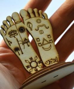 Krishna Lotus Feet statue 2