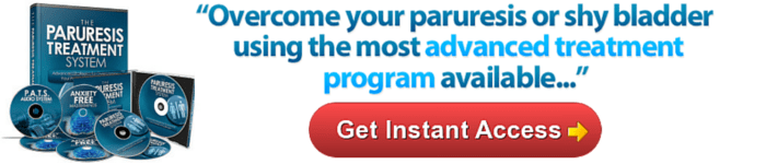 paruresis treatment program shy bladder cure