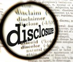 shy bladder syndrome - earnings disclosure