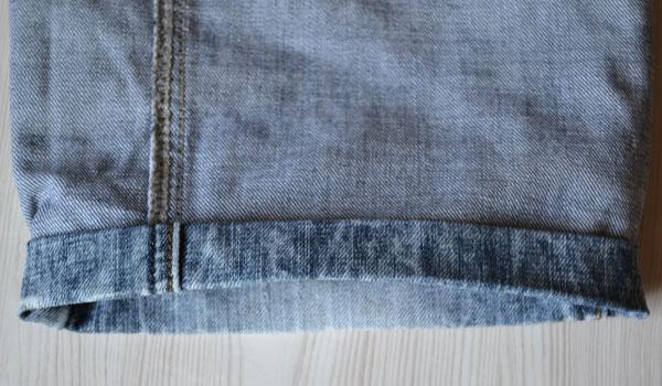 Двойная подгибка джинсов