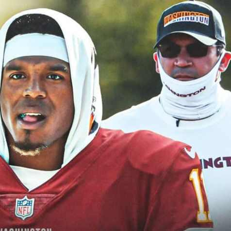 Cam Newton As Washington Football Team QB? What's Coach Rivera Think? - Sports Illustrated Washington Football News, Analysis and More