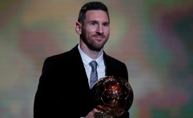 Ballon D Or 2019 Lionel Messi Wins Record 6th Trophy