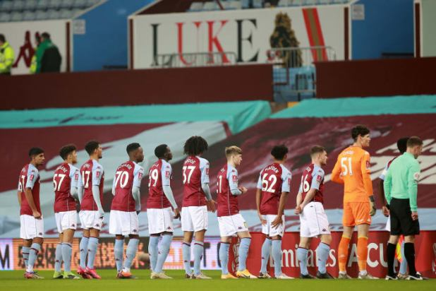 What spreads quickly in English football looks like this: Aston Villa was forced into an adolescent team and 20-somethings during an FA Cup game, along with infected players.