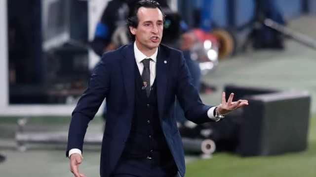 Villarreal manager Unai Emery