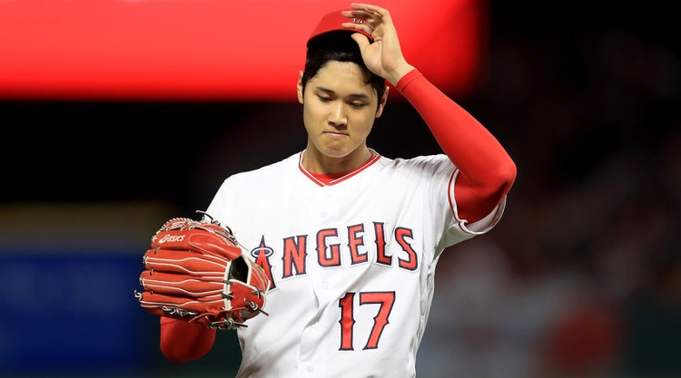 Shohei Ohtani Exits Start After Two Innings With Blister ...