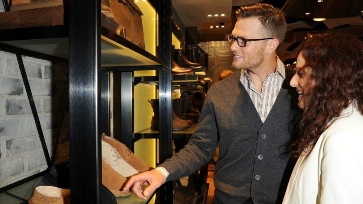 New England Patriots' Tom Brady has a lot of UGGs - Sports Illustrated