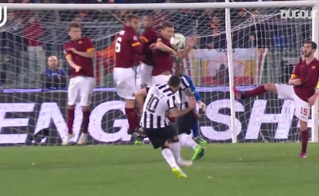 Juventus Best Goals Vs Roma At The Stadio Olimpico