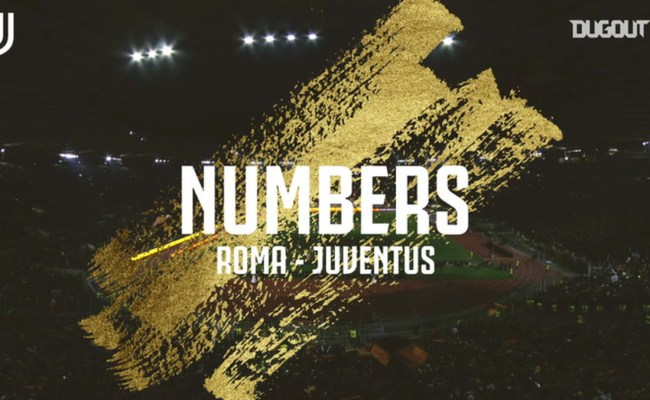 The Stats Behind As Roma Vs Juventus Soccer Dugout On