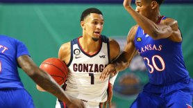 Gonzaga basketball, Jalen Suggs dazzle in win over Kansas - Sports Illustrated