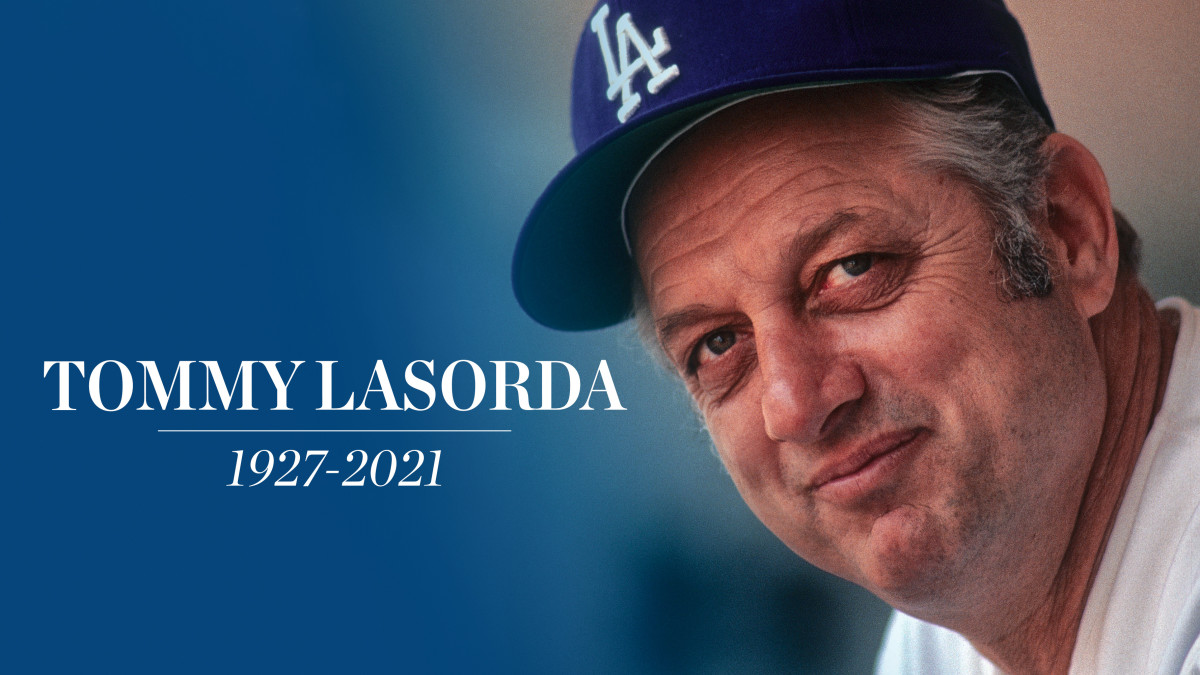 Tommy Lasorda, Hall of Fame Dodgers manager, dies at 93