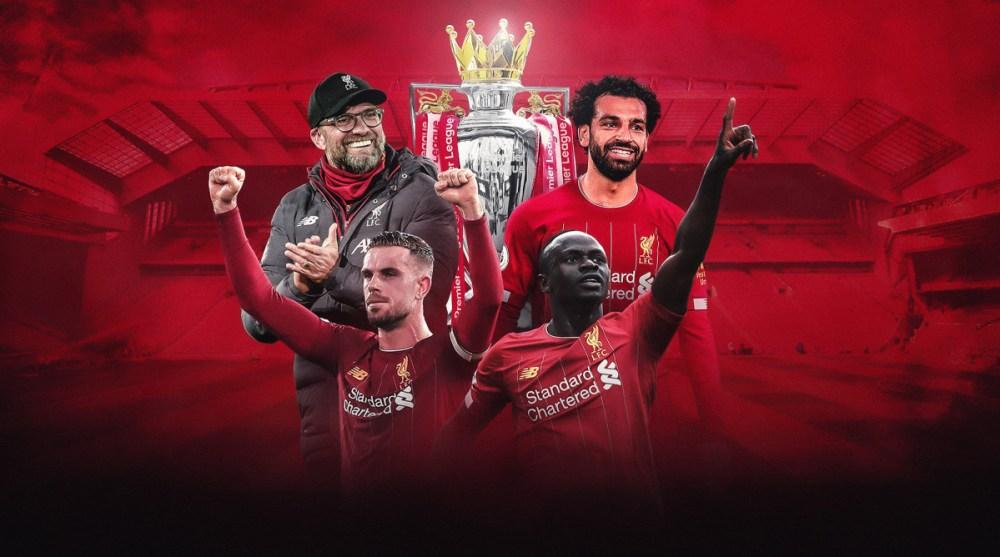 Liverpool has won the Premier League title