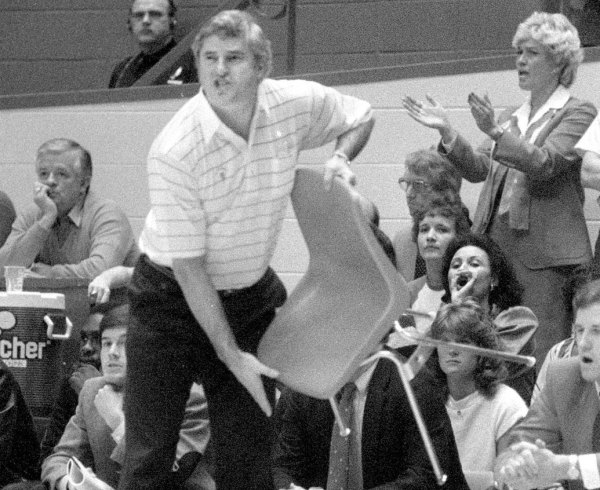 All the Rage Bobby Knight39s infamous 39Chair Game39 30
