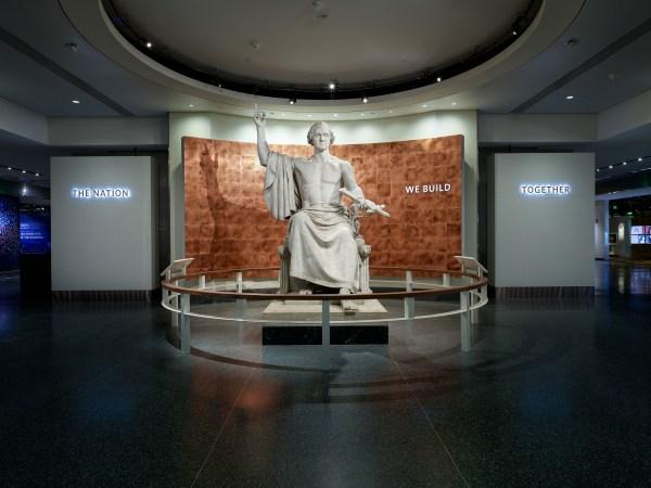 Horatio Greenough George Washington Smithsonian