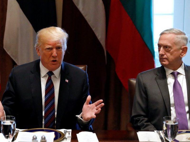 Il NY Times rivela lo scontro TrumpMattis sui raid in Siria  Si24