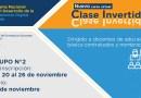 """Grupo 2 del Curso Virtual """"Clase Invertida"""", preinscripción de participantes del 20 al 26 de noviembre de 2020"""