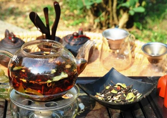 Thai Black Tea Blend inspired by Thai cuisine