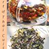 Black Thai tea blend reminiscent of Thai cuisine through addition of Thai spices, flowers and herbs