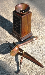 Tea utensils / tools / instruments set 'Dedication', 5-piece