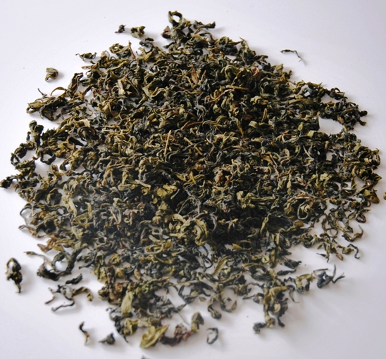 Assamica green tea from north Thailand's native tea trees
