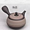Japanese Teapot, umber, 360ml, clay, handmade
