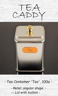 Classic Tea Container 'Tea', 100g