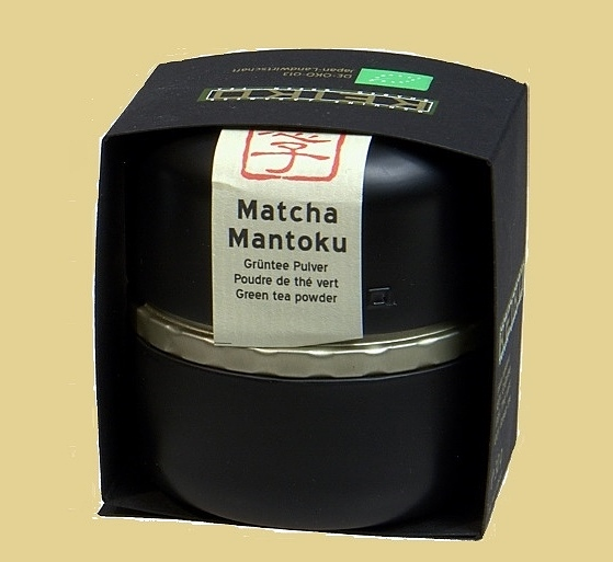 Matcha Tea Mantoku in airtight closing decorative 30g box