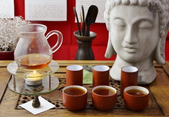 Wild Black Needle Pagoda Dian Hong Cha Black Tea from Yunnan, China