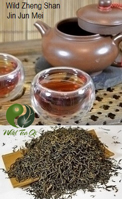 Wild Zheng Shan Jin Jun Mei Wuyi Black Tea