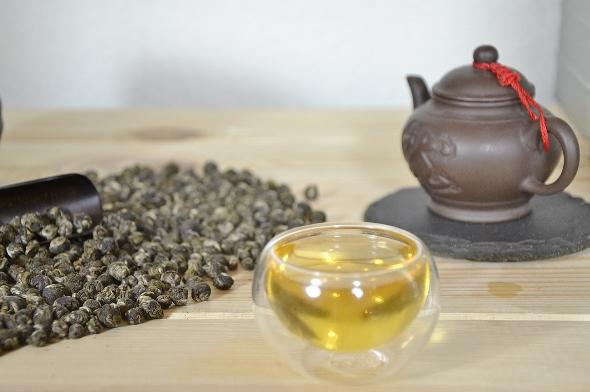 High Grade Dragon Pearls Jasmine Tea from Fuding, Fujian, China