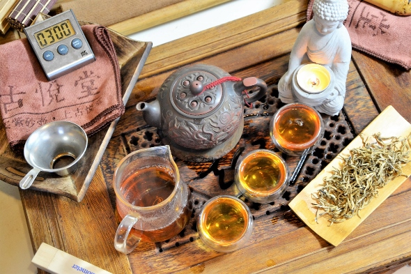 Xiengkhouang Golden Flame Black Tea - Artisan Arbor Tea from Laos