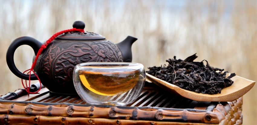 "Wuyi Golden Water Da Hong Pao Oolong Tea - ""Big Red Robe"""