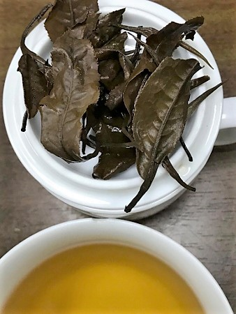 Ancient Snow Shan Sheng Pu Erh Tee / Hei Cha Tea from Vietnam, Ha Giang Province - pressed cake