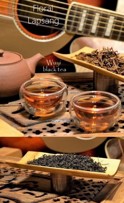 Floral Lapsang Black Tea from spring picking in Wuyishan, by Cindy Chen