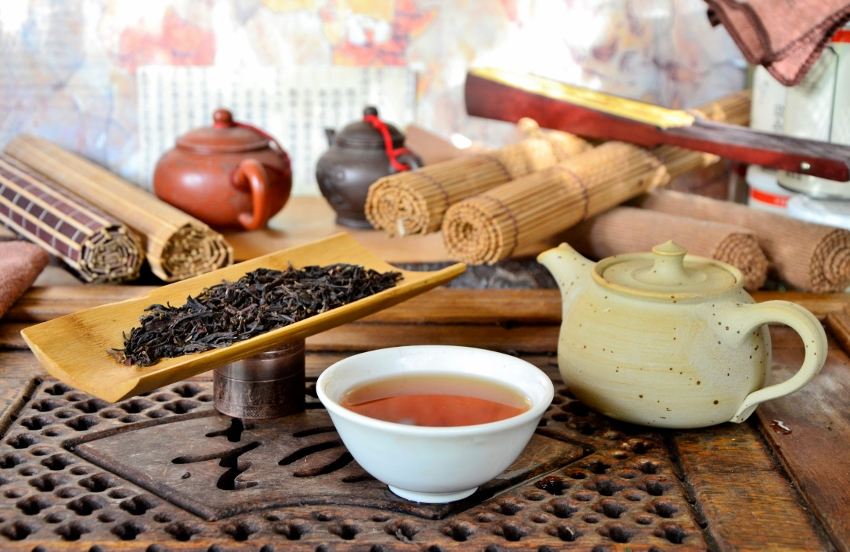 Vintage Muscatel Second Flush 2019 : Summer picking of the Jungpana tea garden in Darjeeling