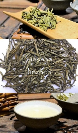 Junshan Yinzhen - the original yellow silver needle tea from Junshan island