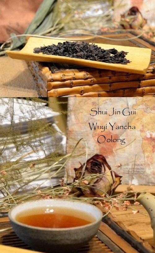 Zhengyan Shui Jin Gui Wuyi Yancha Oolong Tea
