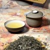 Junshan Yinzhen First Grade Yellow Tea from Junshan Island, Dongting Lake, Hunan province, China
