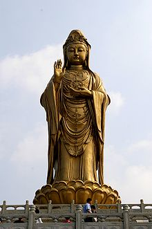 Guanyin, Göttin der Barmherzigkeit, der Gnade und des Mitleids