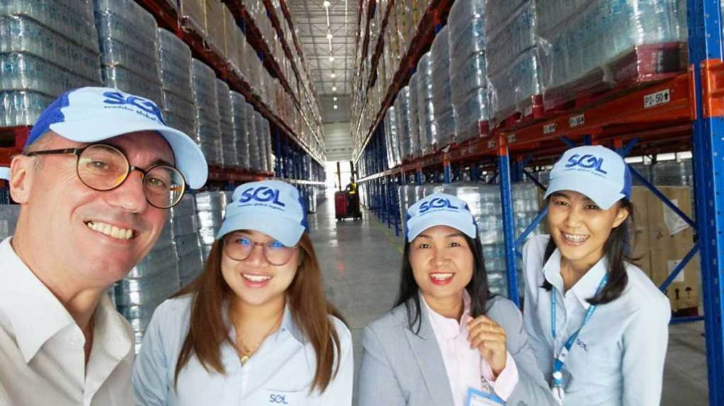 Warehousing in Tailandia