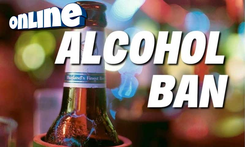 Online Alcohol Sales ban in Thailand