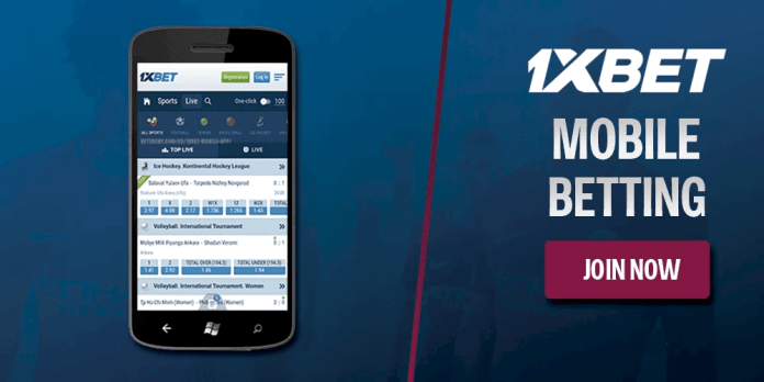 Download 1xBet mobile and play all over the world