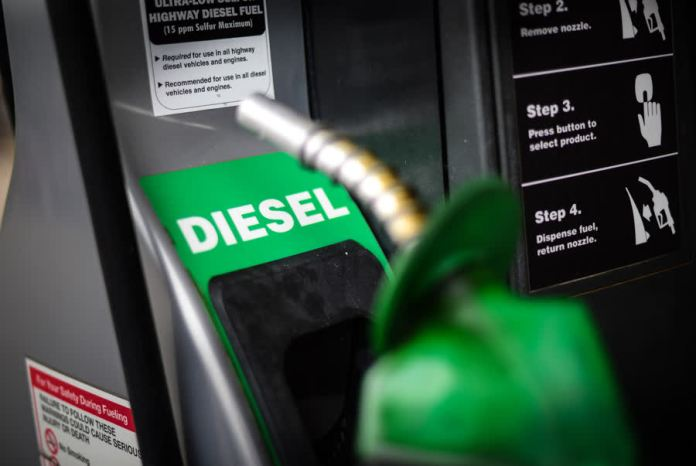 Diesel price to be maintained at 30 baht per liter