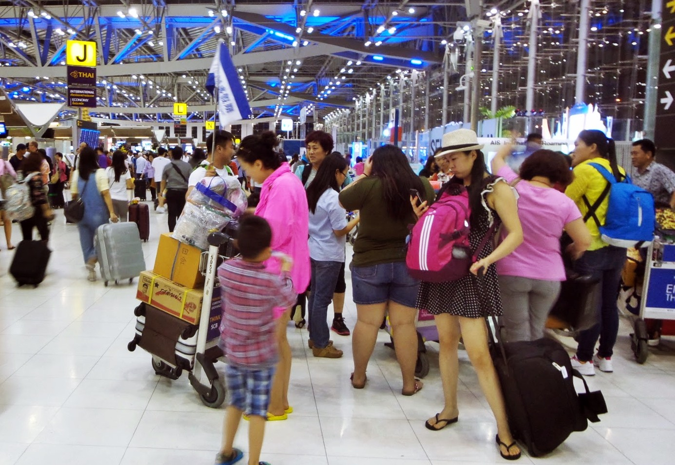 China's Outbound Trips Increase 7% To Reach 130 Million